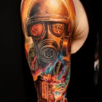 apocalyptic tattoo by burch