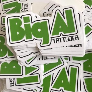 Big All Tattooer stickers