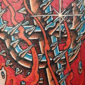 Judas Priest Tattoo by Corvidae