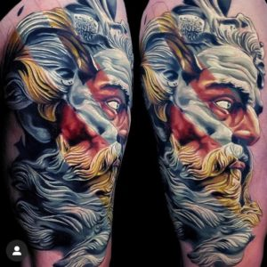 Tattoo by Burch at Crow Temple