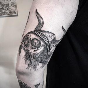 big al norwich thigh tattoo